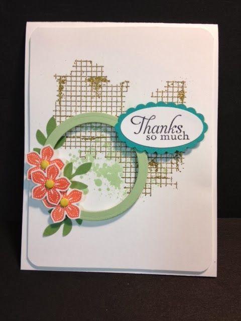 My Creative Corner!  Pretty card posted by Wanda Pettijohn