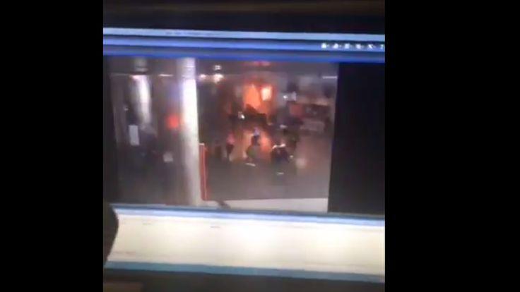 Így robbant fel az isztambuli reptér! Videón a támadás pillanata