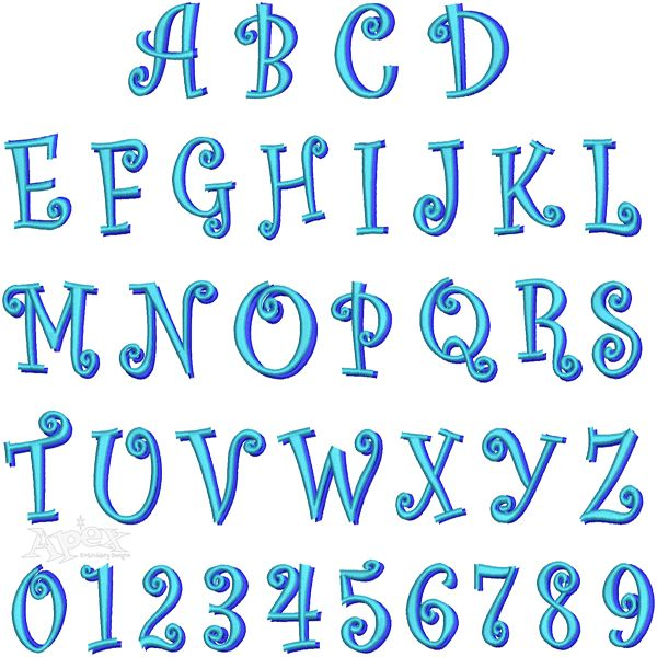 Color By Letters And Numbers