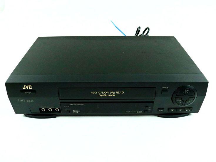 JVC HR-VP690U 4 Head Hi-Fi Stereo VHS VCR Player Recorder NO Remote - Tested #JVC