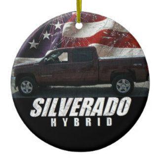 2013 Silverado Hybrid Ceramic Ornament