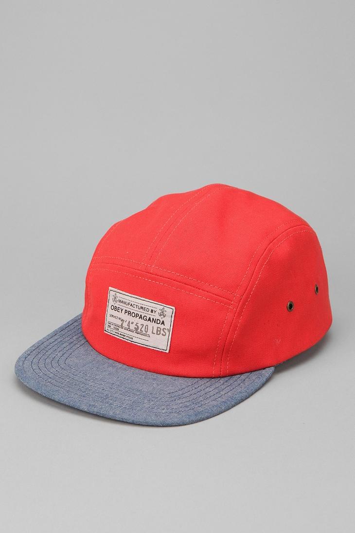 OBEY Munition 5-Panel Hat