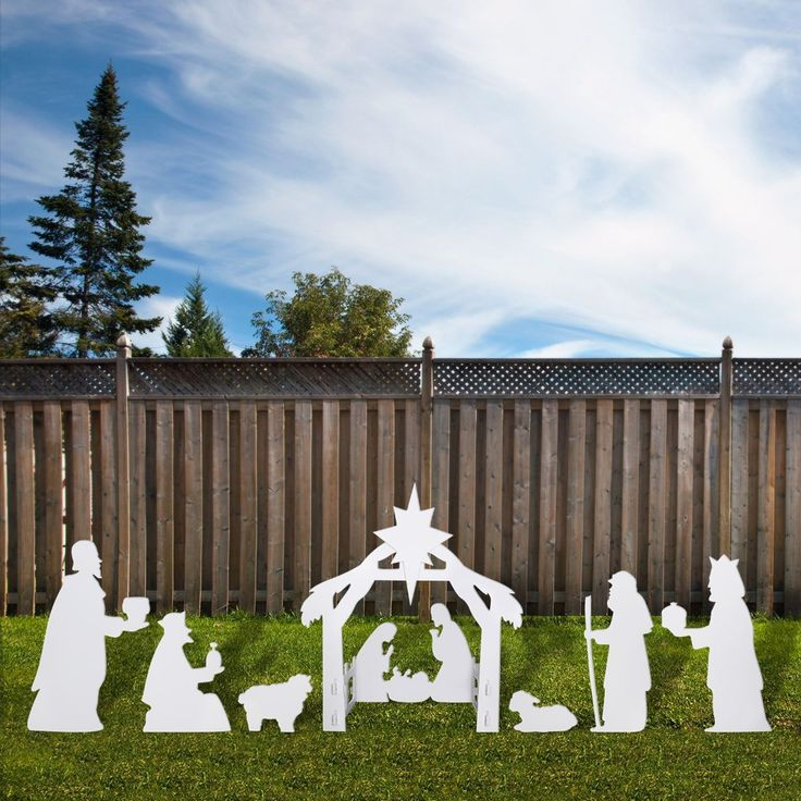 Nativity Scene Outdoor Christmas Decoration: Best 25+ Outdoor Nativity Scene Ideas On Pinterest