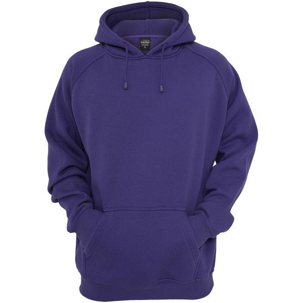 Purple Urban Classics Hoodie ❤ liked on Polyvore featuring tops, hoodies, men, blue hoodie, sweatshirts hoodies, purple top, purple hoodie and hooded sweatshirt
