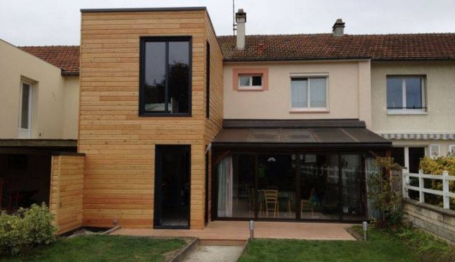 35 best images about extension maison on pinterest coins for Maison container finistere