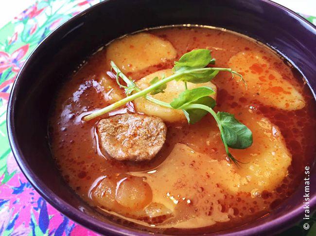 Gryta med lamm och potatis (margat poteita)