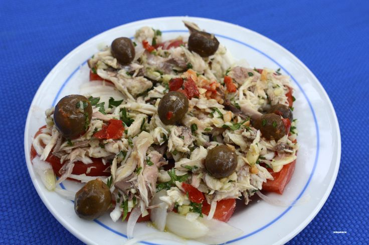 Salad of txitxarro
