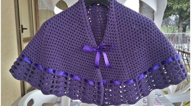 Precioso Chal de la Abuelita en Crochet - Manualidades Y DIYManualidades Y DIY