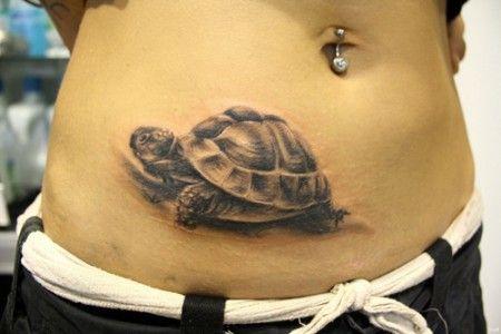 Tattoo Schildkröte