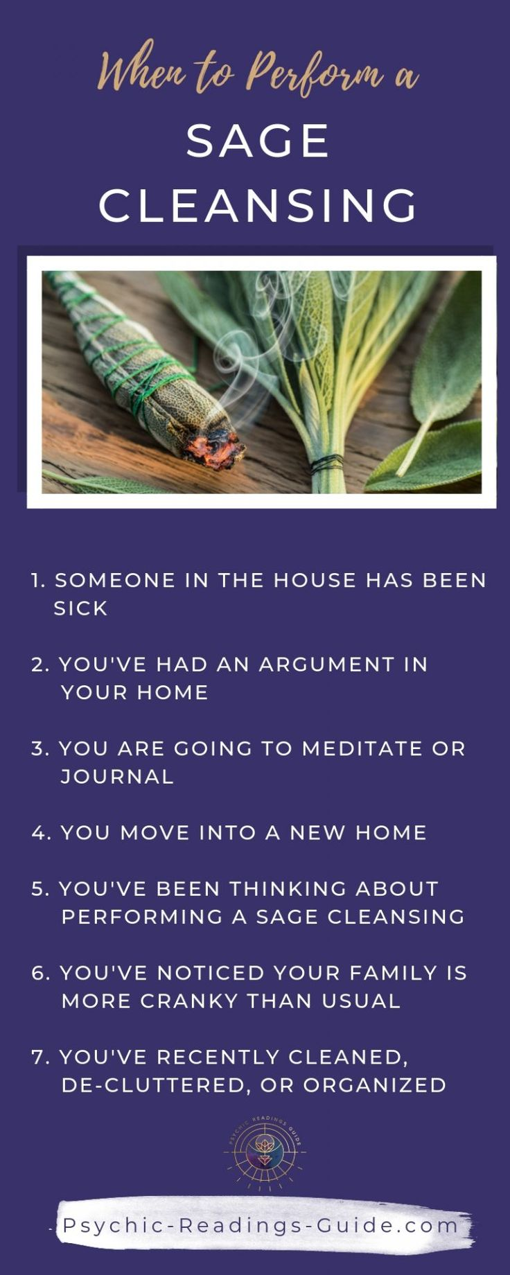 How to do a Sage Cleansing in Your Home in 2020 Sage