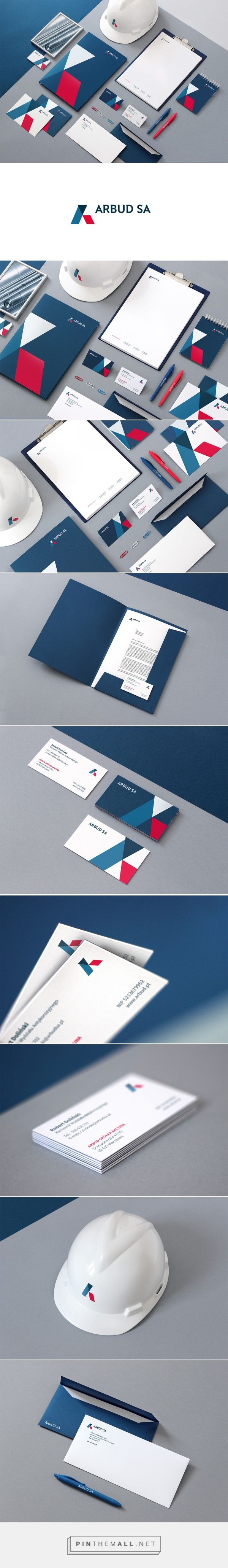 ARBUD SA Branding on Behance | Fivestar Branding – Design and Branding Agency…