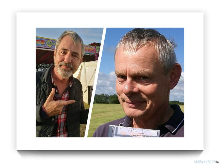 Martin Clunes Neil Morrissey Buckham Fair 2017