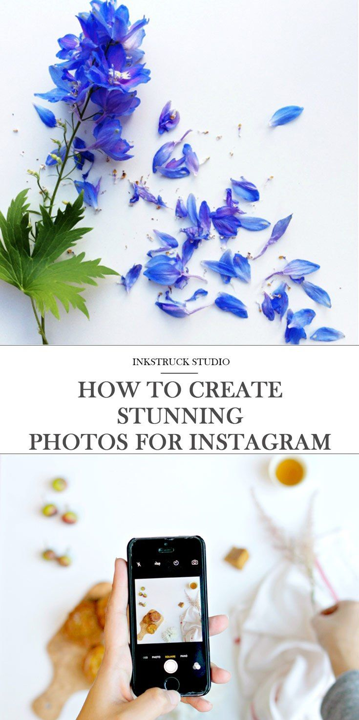 Learn how to beautifully style Instagram photos in this detailed guest post on Inkstruck Studio by Lilian Mackenzie.