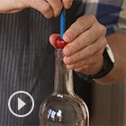 How to Pit Cherries with Chopsticks