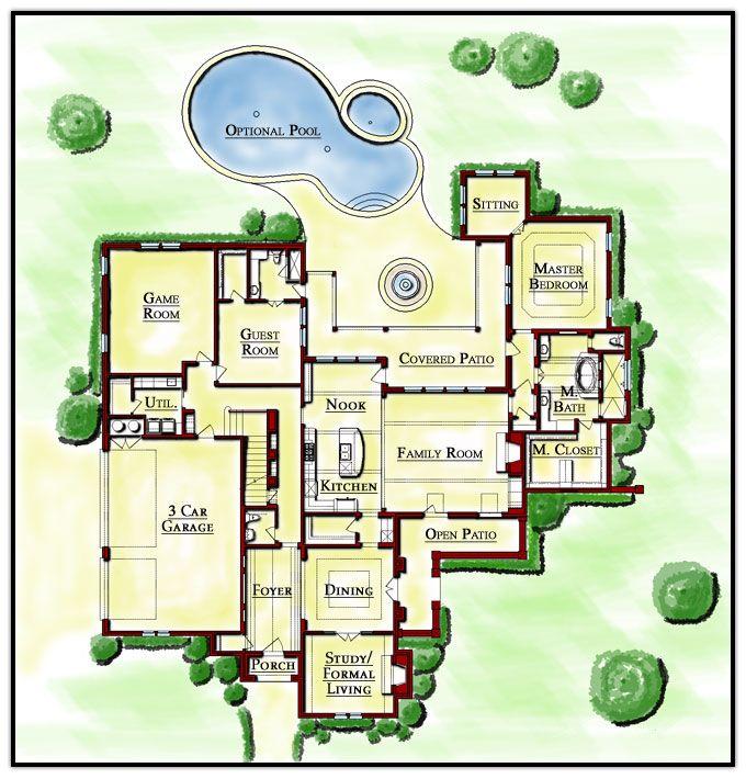 Perfect Floor Plans For Homes Home Floor Plans Pinterest