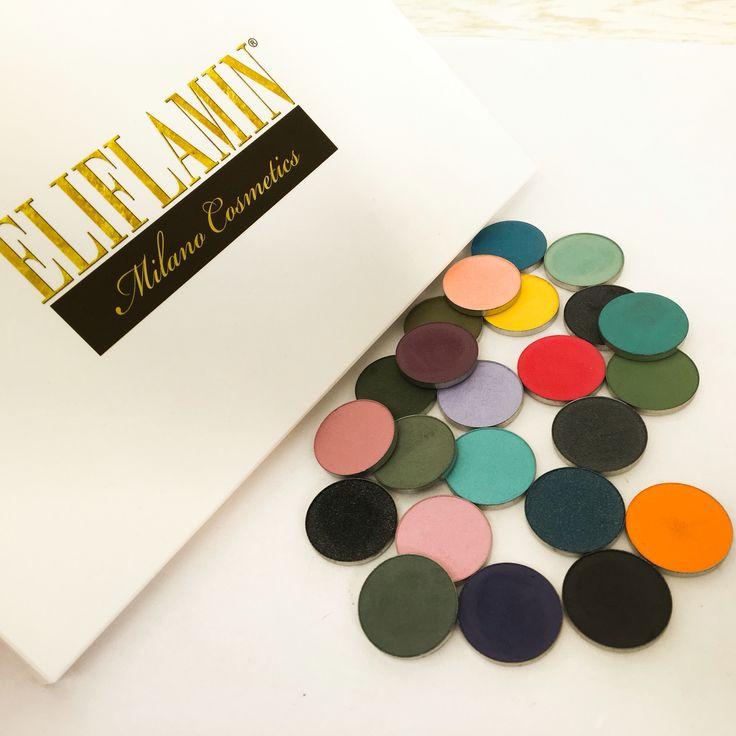 Eliflamin Colors eyeshadows