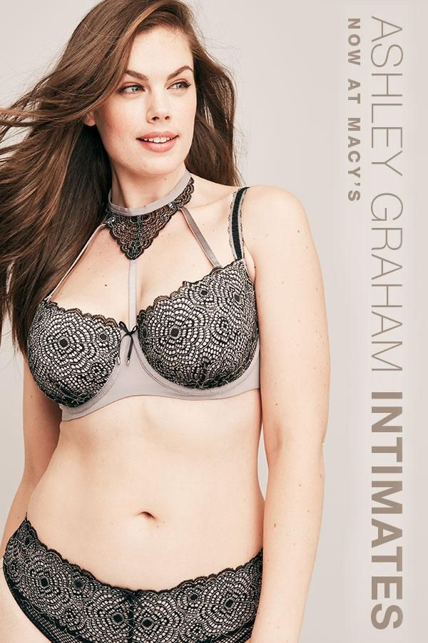 Feel beautiful inside and out with Ashley Graham's intimates collection now available at Macy's!