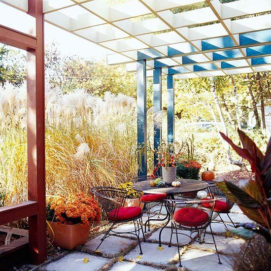 private patio - Private Patio Ideas