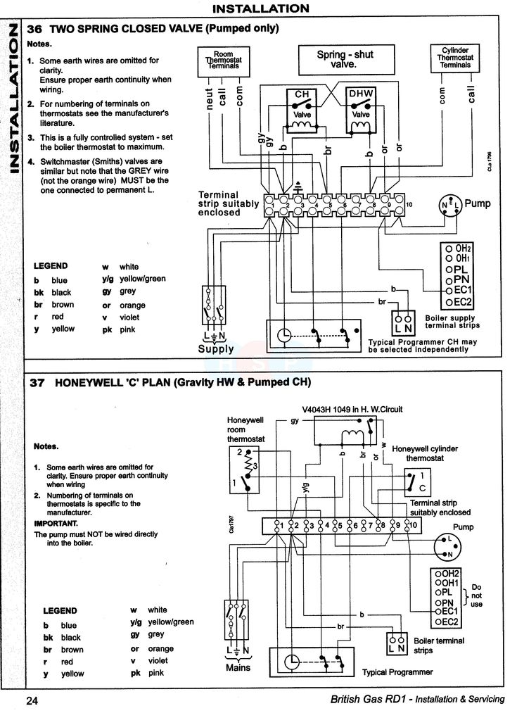 New Wiring Diagram for Sunvic Central Heating #diagram #
