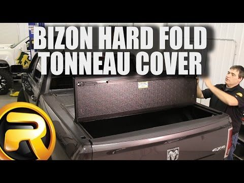 Bizon Hard Fold Tonneau Cover - Folding Truck Bed Covers