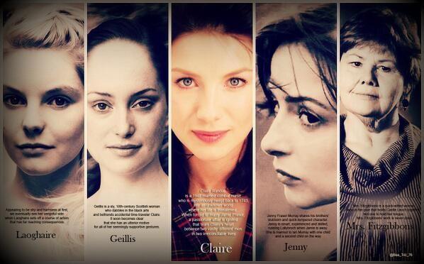 The women of Outlander! #outlander_starz #outlander