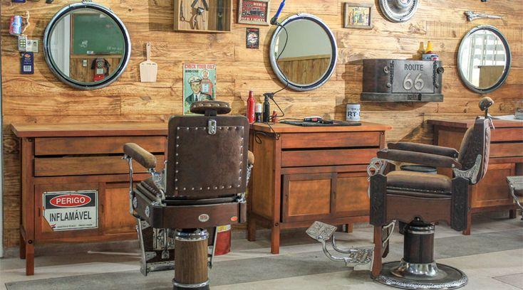 Barbearia com estilo faz sucesso