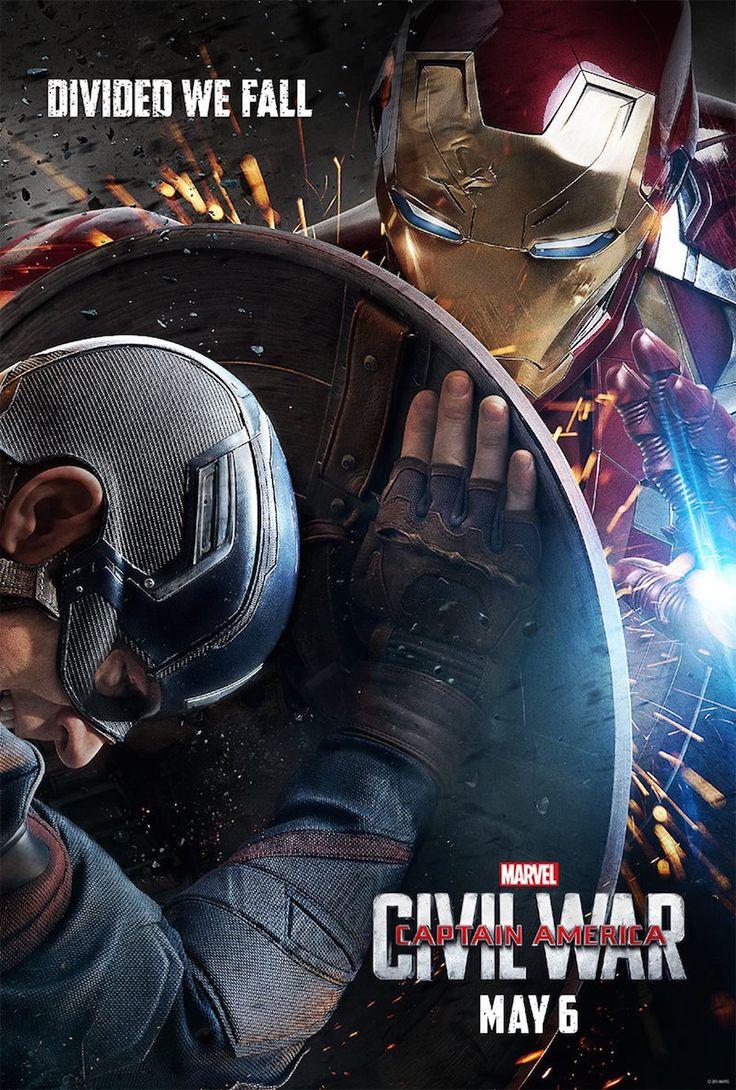 Постеры: Первый мститель: Противостояние