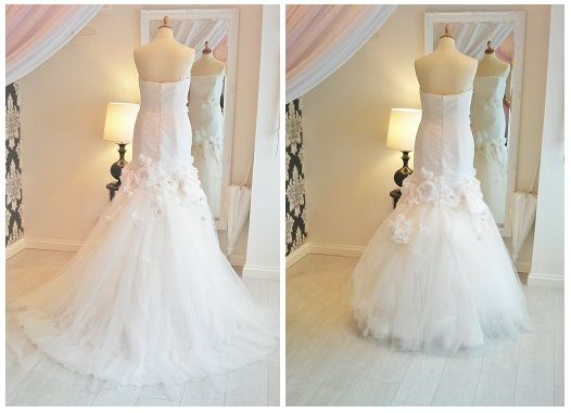 1000+ Ideas About Wedding Dress Bustle On Pinterest