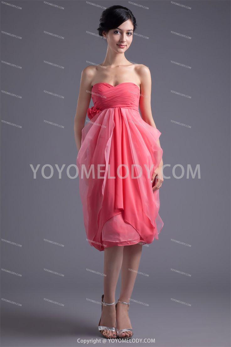 A Line Homecoming Dress @yoyomelodydress