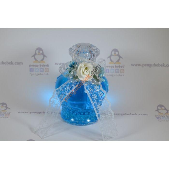 Taç şeklinde şişe bebek şekeri, bebeğinizin gelişi anısına ziyaretçilerinize verebileceğiniz çok şık bir hatıra. Pengu Bebek