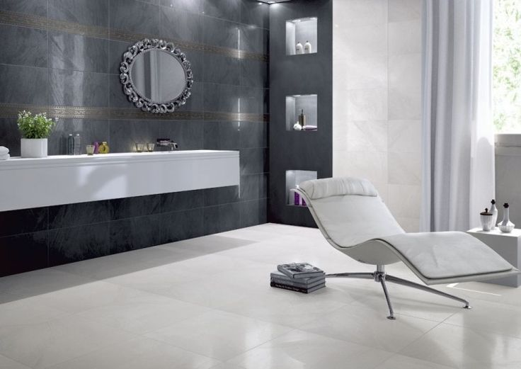 Fondovalle Crystall Fascia Bianco 10x60 cm
