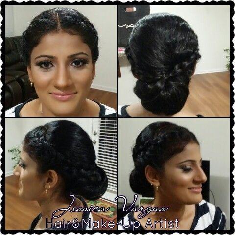 más de 25 ideas increíbles sobre peinados de novia india en