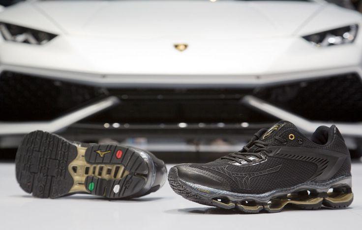 Mizuno + Lamborghini = New Luxury Kicks, Wave Tenjin