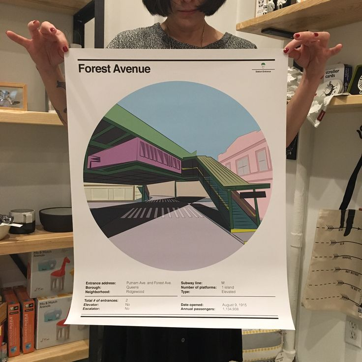 Station Poster: Forest Avenue