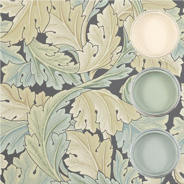 Väggfärg 321 - Pastellgrön - Ärggrön - Inspiration: Auro ekologisk färg och ytbehandling