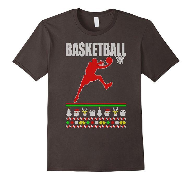 Amazon.com: Basketball Ugly Christmas Sweater Shirt - Gift for Basketbal: Clothing