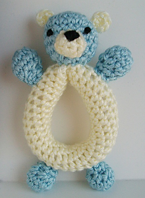 Ravelry: Teddy Bear Rattle pattern