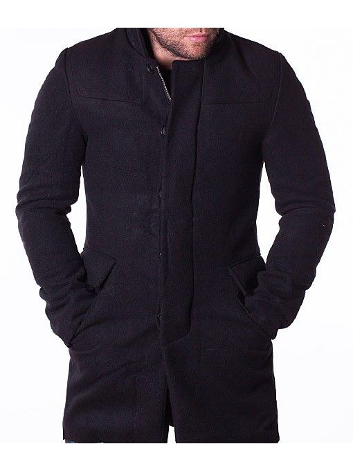 Palton barbati Black Number negru
