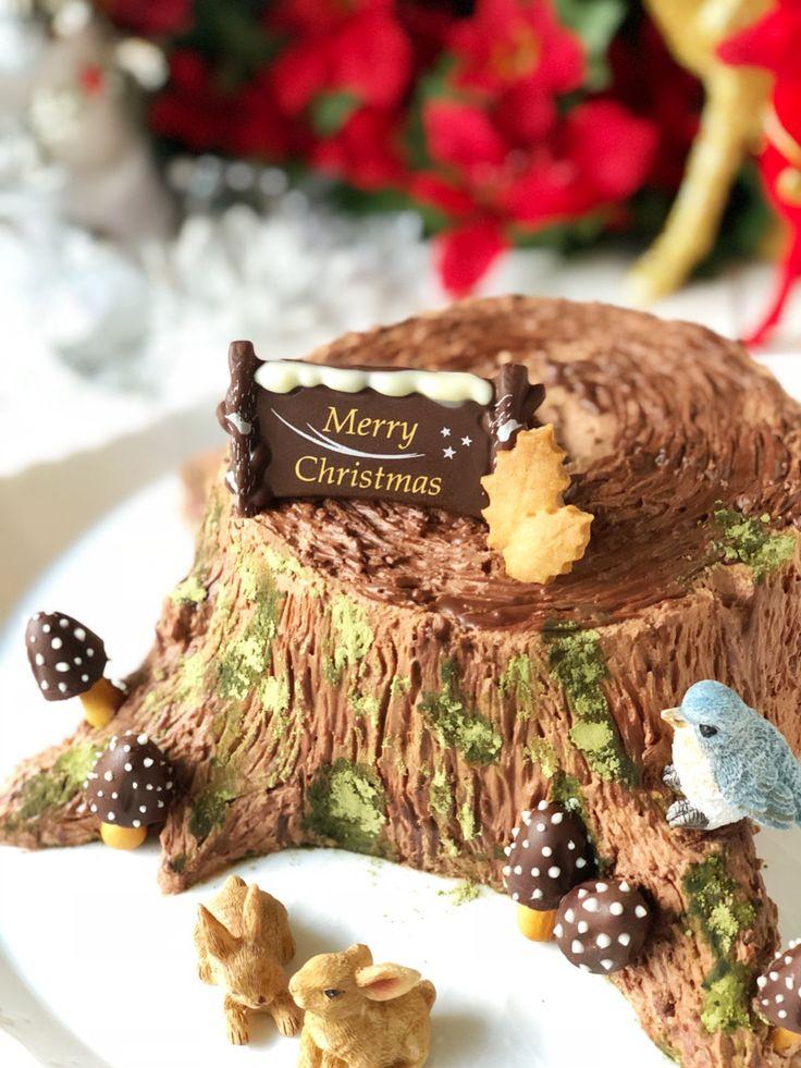 ブッシュドノエル bûche de Noël Christmas cake