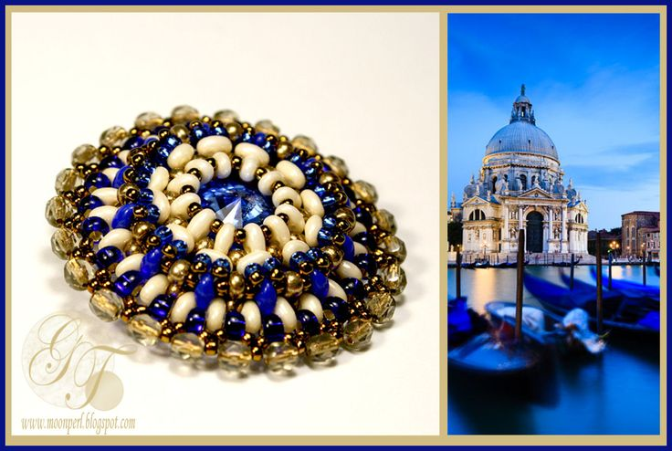 Venice blue | biser.info - всё о бисере и бисерном творчестве