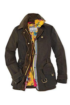 Our Milbury jacket on oprah.com #oprah #wax #countrylook