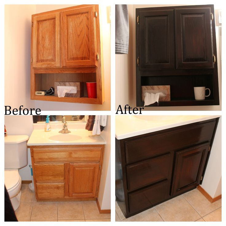 Tips Tricks For Painting Oak Cabinets: Best 25+ Staining Oak Cabinets Ideas On Pinterest