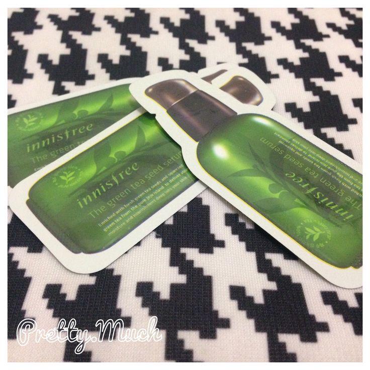 Innisfree Green Tea Fresh Trial Kit By PrettyMuchChannelSaturday, August 16, 2014 // Innisfree Green Tea Fresh Trial Kit