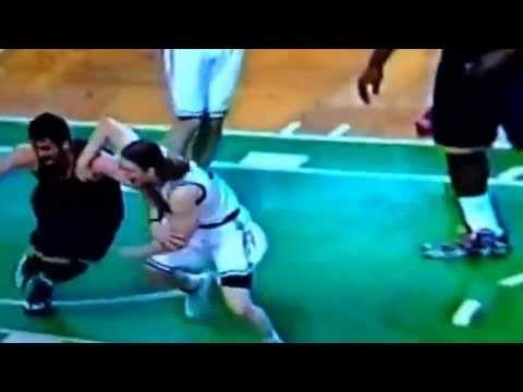 Celtics Fan Bill Burr Puts Kelly Olynyk's Arm Bar On Kevin Love Into Perspective Kevin Love  #KevinLove