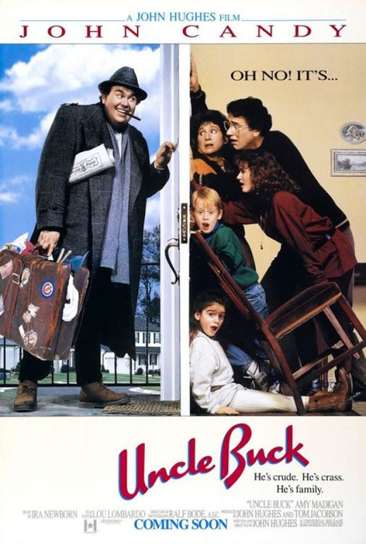 """Uncle Buck"" is an American comedy film directed by John Hughes and starring John Candy and Amy Madigan, with Jean Louisa Kelly, Gaby Hoffmann, Macaulay Culkin, Jay Underwood, and Laurie Metcalf in supporting roles. The film earned nearly $80 million worldwide since its release. A television series was broadcast on CBS in 1990. The show was not received well by TV critics."