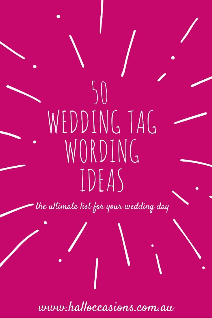 The Ultimate 50 Wedding Thank You Wording Ideas And Quotes To Make Your Tags Perfection