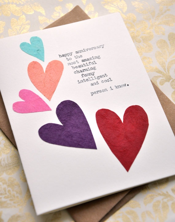 DIY heart Card...could easily do for a valentine!