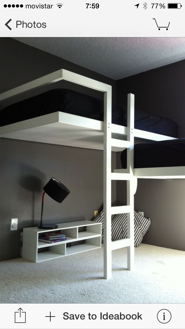 428 best images about home small but smart on pinterest - Literas modernas ...