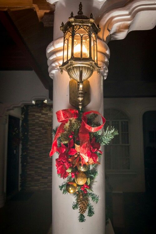 Accent for lamps on holidays
