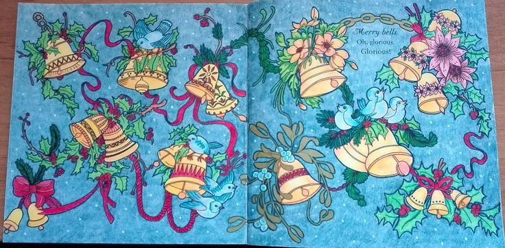 Finished: 27. 10. 2017; Source: Escape to Christmas Past; Medium: Maped Color'Peps, DW Inktense, liners, golden felt pen, white Posca